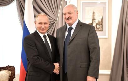 Путин заявил о стремлении довести объем торговли с Белоруссией до $50 млрд