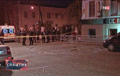 МВД Украины: в харьковском клубе сработала самодельная взрывчатка
