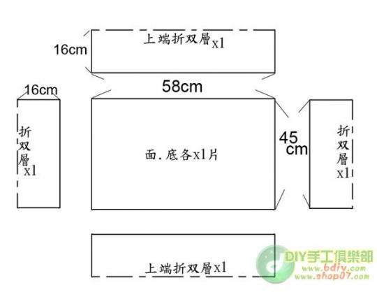 0楼:1_宠物床墊DIY~双面可用 尺寸
