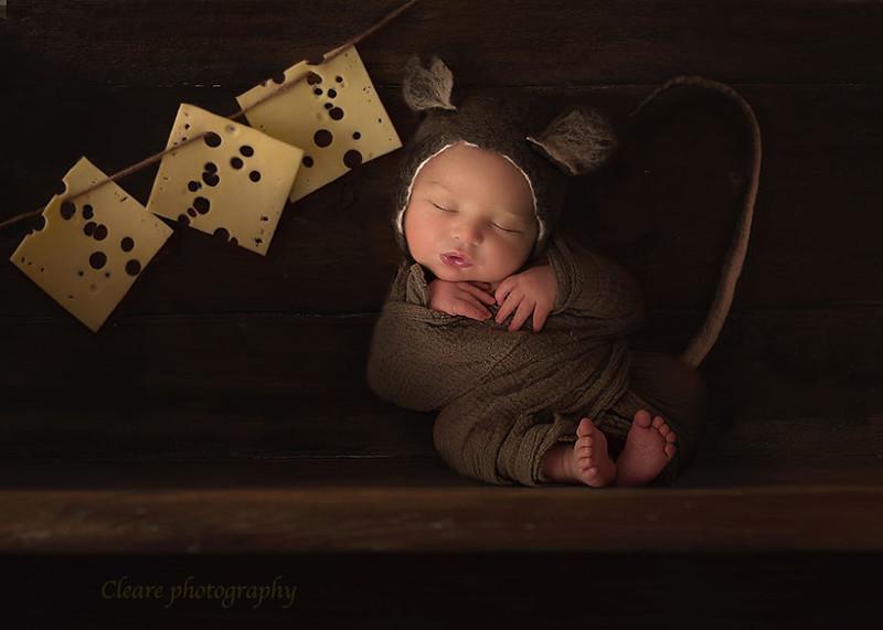 Младенцы становятся обитателями волшебных миров благодаря фантазии фотохудожницы Эфа Миллеа, в мире, дети, милота, младенцы, фотограф, фотошоп