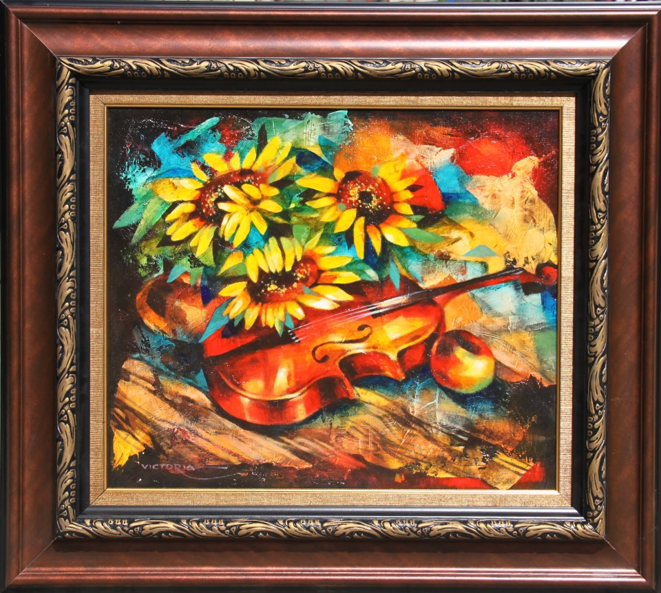 Sunflower sonata - original painting