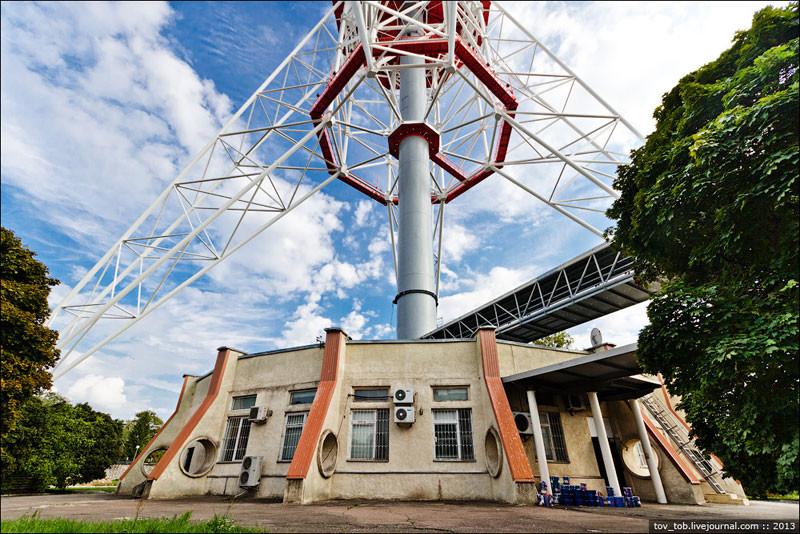 9. Башня, как и любое здание, нуждается в уходе и ремонте интересно знать, история, киев, телевышка, факты