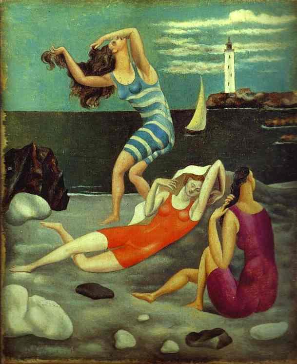 Пабло Пикассо. Купальщицы. 1918 год