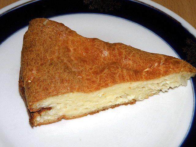Пирог с капустой. Отправляем в разогретый духовой шкаф
