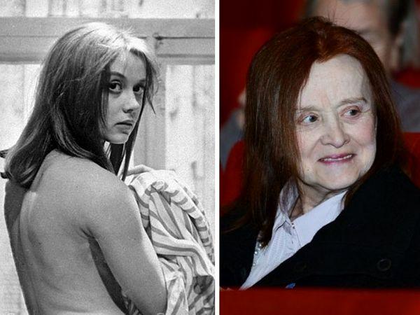 Как советские актёры выглядели в своих первых фильмах и как они выглядят сейчас. Часть 3