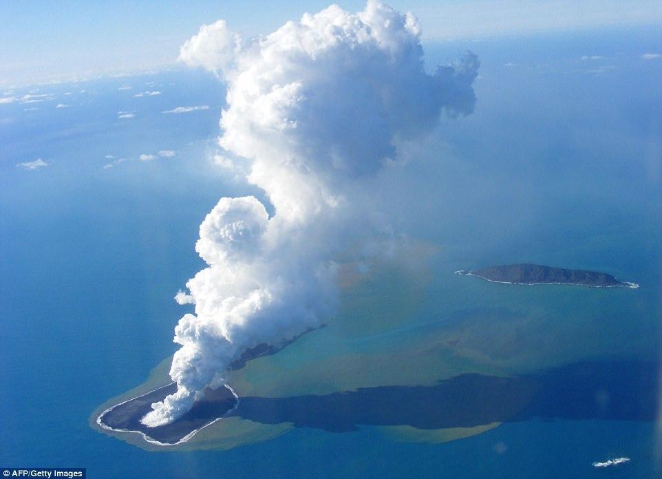 10 самых молодых островов на Земле