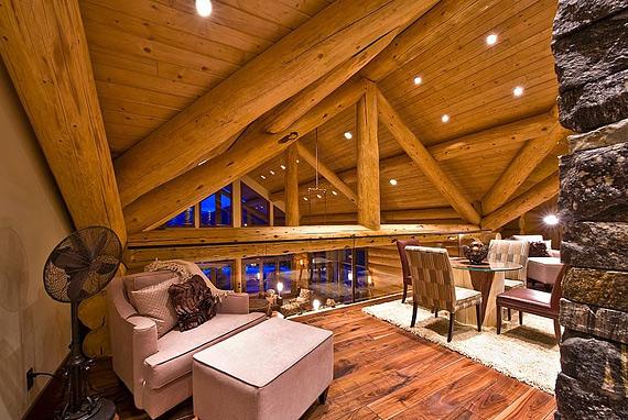 Изба по-канадски Okanagan Log Home