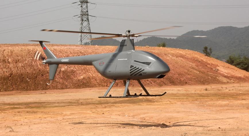 Китай показал модель скоростного беспилотного вертолета