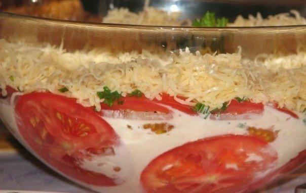 Помидоры под шубой — совершенно новый томатный вкус!