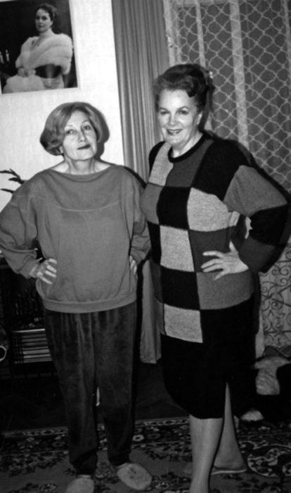 Элина Быстрицкая и Софья Шегельман.