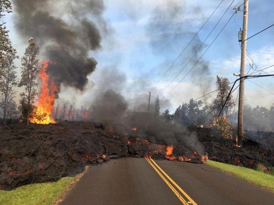 И рай может быть адом — вулкан Килауэа уничтожает все вокруг