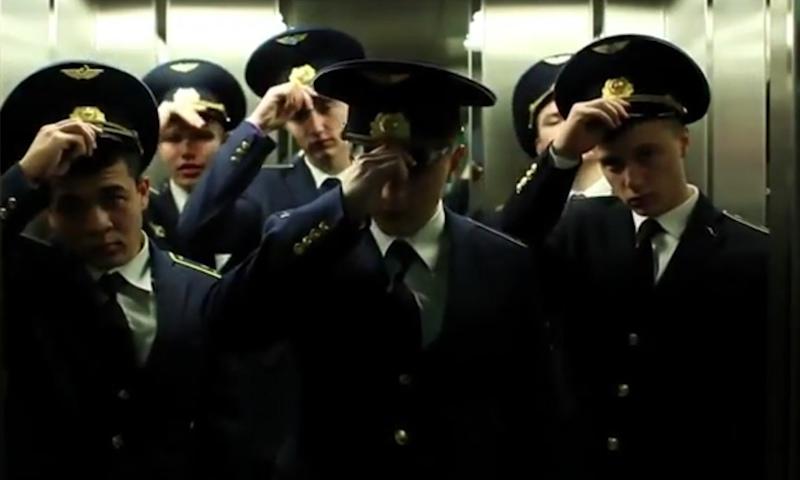 Пенная вечеринка: новая выходка ульяновских курсантов