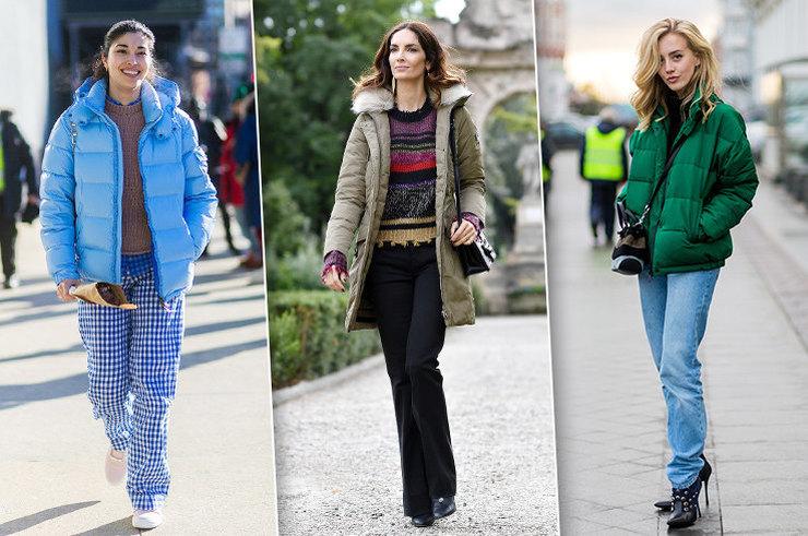 Как носить пуховик и выглядеть стильно: 20 модных идей для тебя