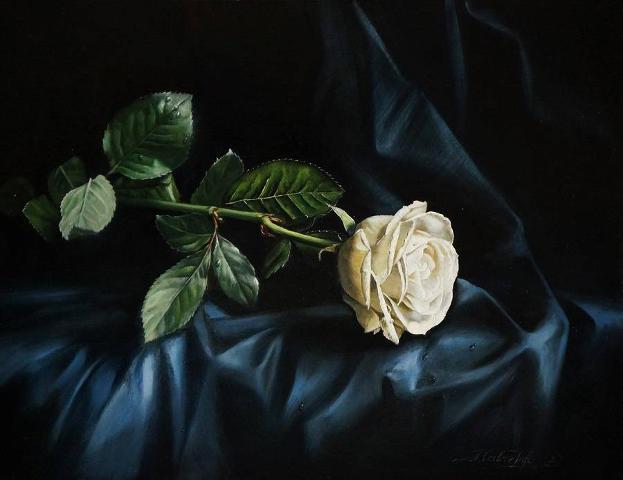 Воспоминания о лете, художница Алена Савченко