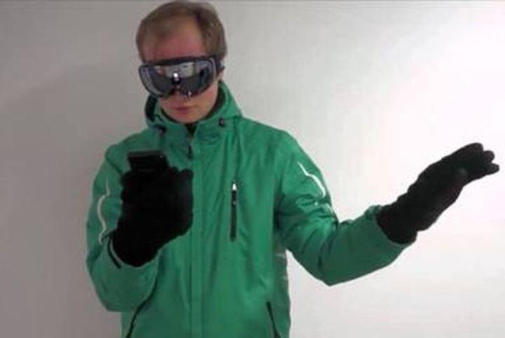 Microsoft представила систему управления смартфоном жестами