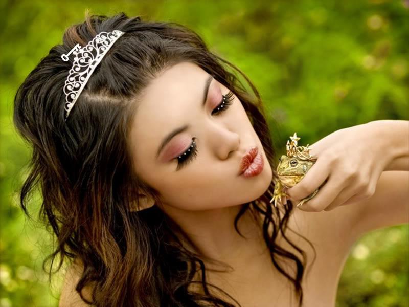 О том какая настоящая принцесса, а не то, что строят из себя некоторые дамы)