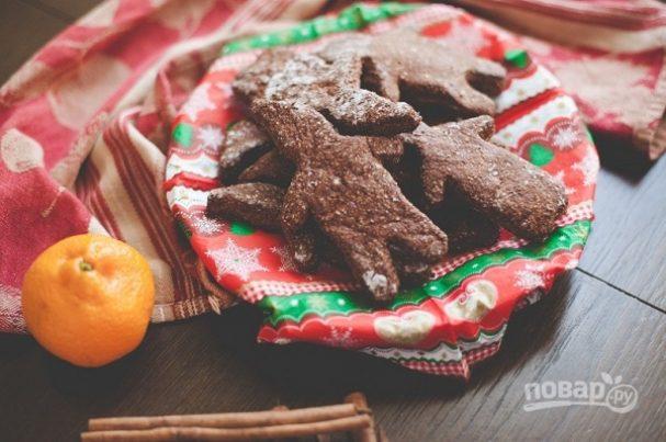 Диетическое имбирное печенье
