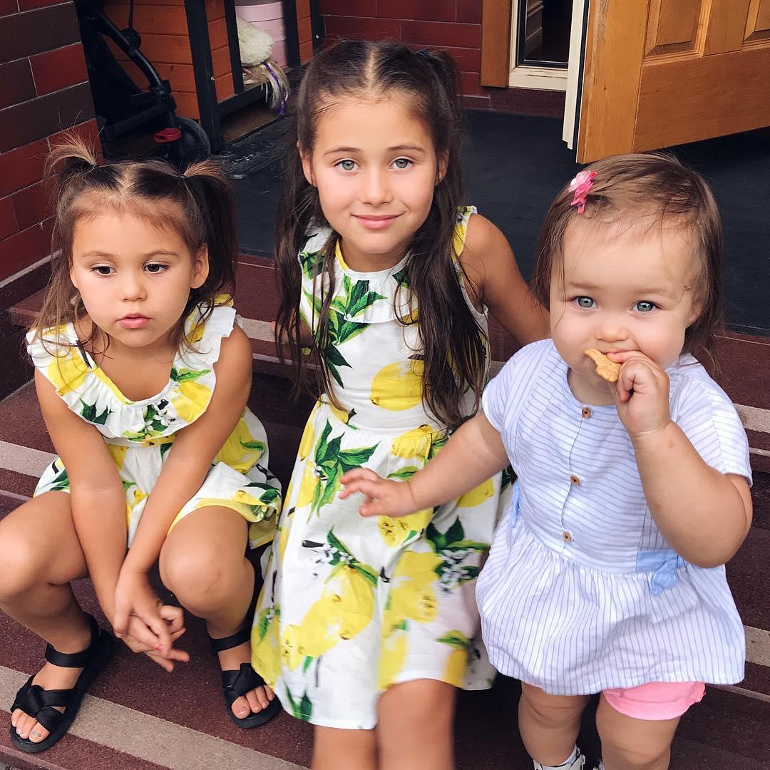 Красивейшие дети российских звезд, покорившие Instargam!