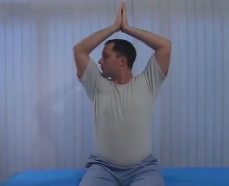 гимнастика для шеи доктора Шишонина без музыки