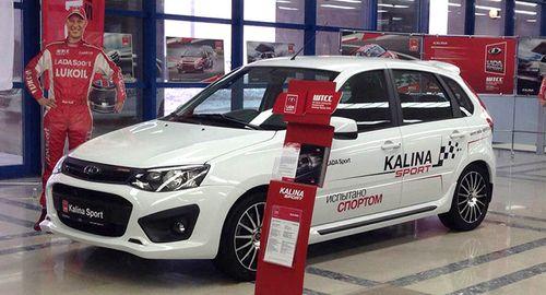 Lada Kalina Sport NFR выйдет в продажу в июле