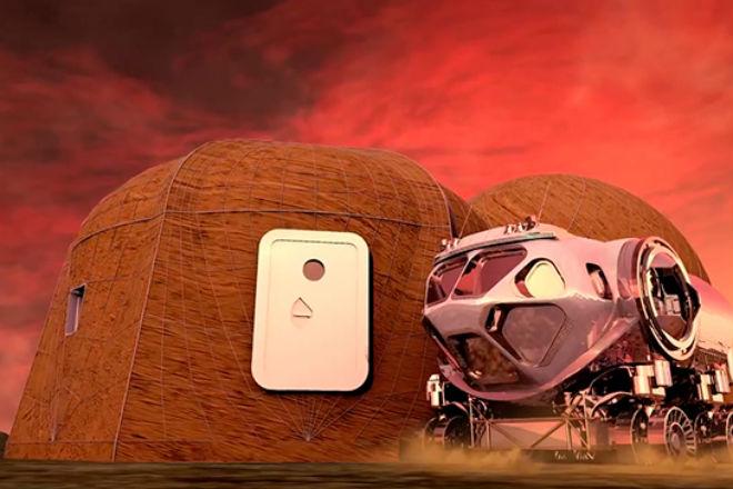 Как будет выглядеть город на Марсе: НАСА рассекретила проект