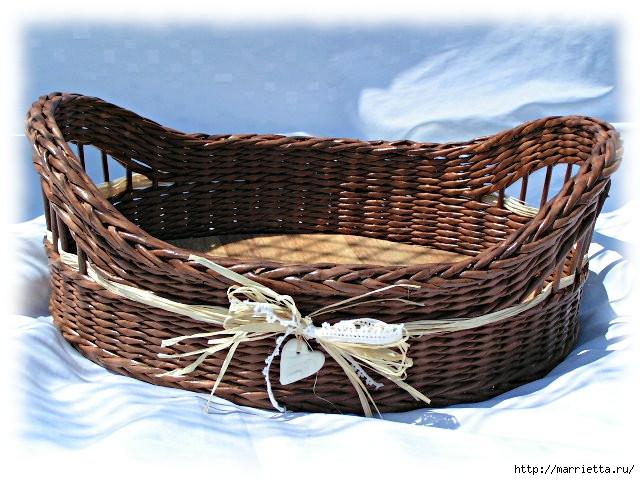 Плетение из газет. Идеи и мастер-класс на донышко плетенки (9) (640x480, 227Kb)