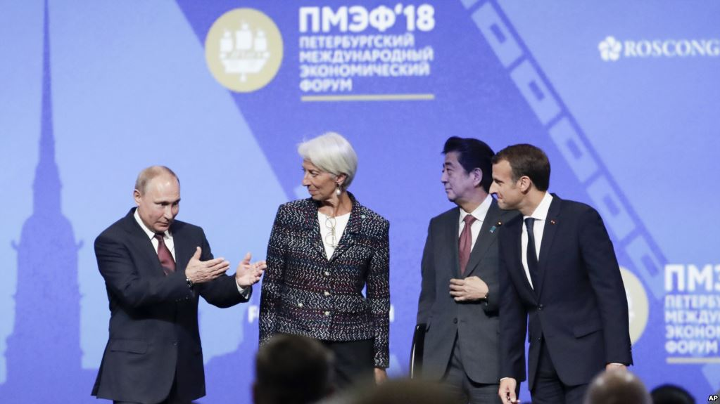 Путин предложил Европе освободиться от Америки