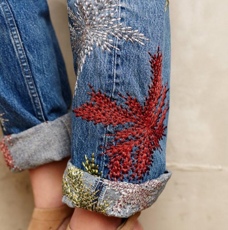 Современная вышивка — интересные идеи вышивок в различных техниках