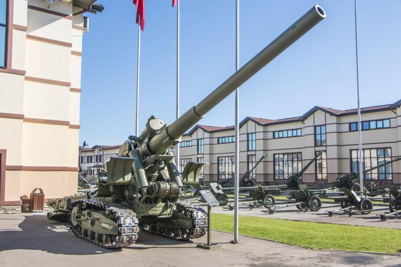 Артиллерия. Крупный калибр. 152-мм пушка Бр-2