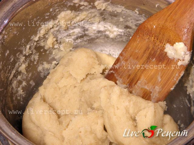 тесто для вареников с капустой рецепт с фото пошагово