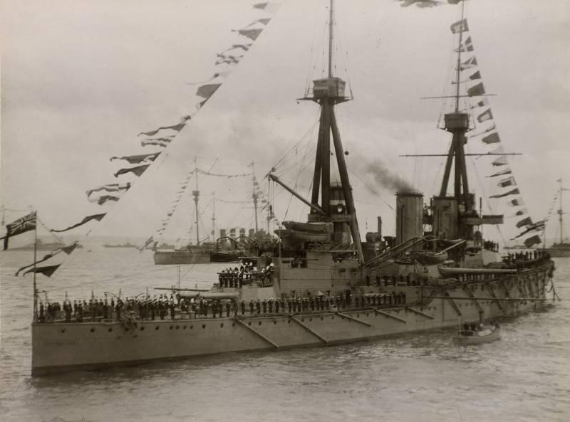 """Ошибки британского кораблестроения. Линейный крейсер """"Инвинсибл"""""""