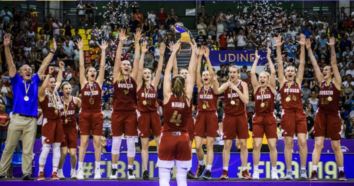 Женская сборная России по баскетболу выиграла молодёжный ЧМ, победив в финале американок