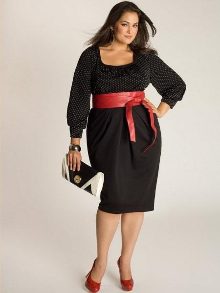Фасоны платьев для полных женщин в возрасте после 50[8]