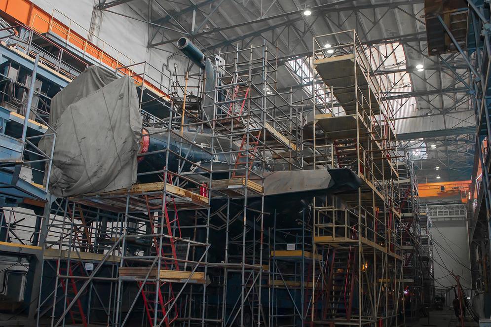 Новости программы строительства больших подводных лодок проекта 677