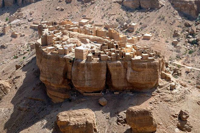 Необычная деревня в Йемене, …