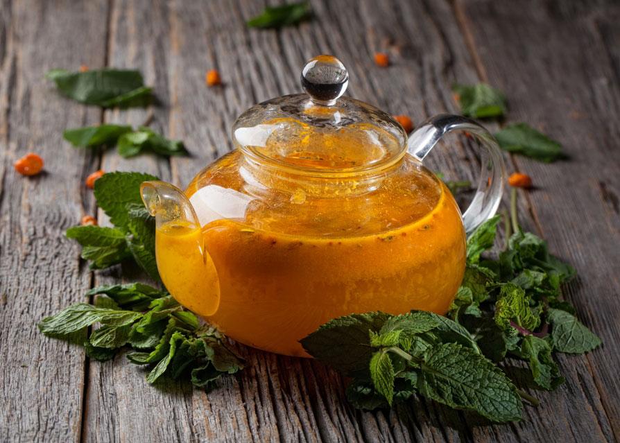 Чай с облепихой и мятой рецепт