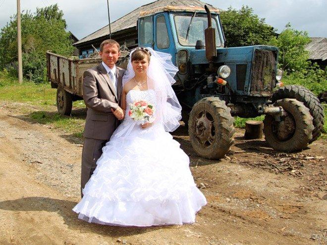 Сельская свадьба во всей красе