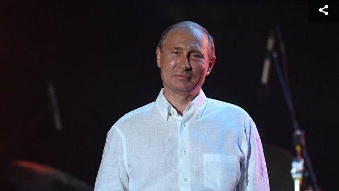 Путин посетил джазовый фести…