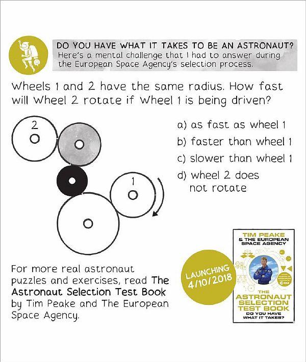 Головоломки для астронавтов от Европейского Космического Агентства