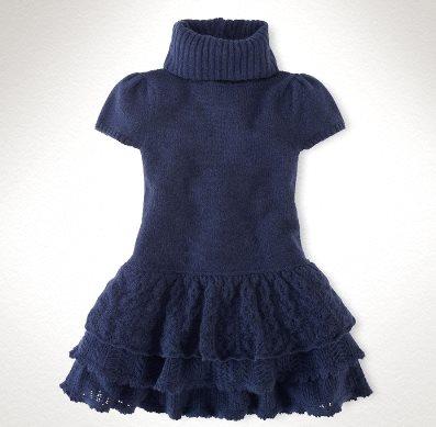 ВЯЖЕМ. Платье для девочки
