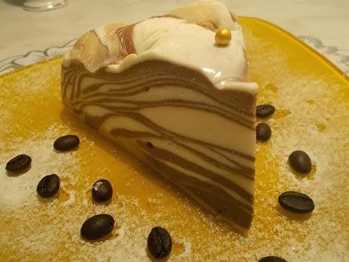 Десерт творожный «Мраморный»