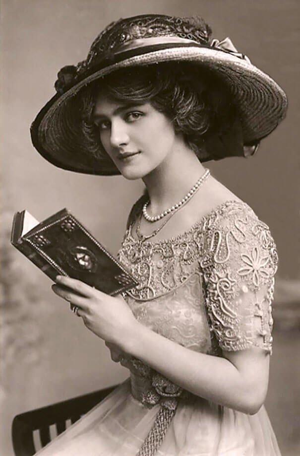 Лили Элси 20 век, красота, фото