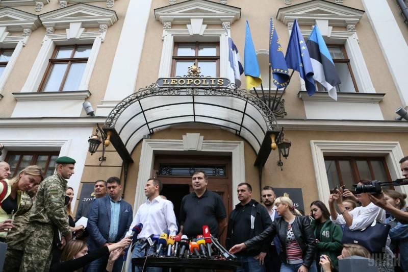 Саакашвили в Киеве — это война-2018