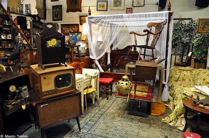 Antiques shops 13 Антикварные магазины в США
