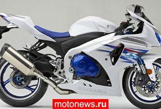 У Suzuki снизились продажи мотоциклов