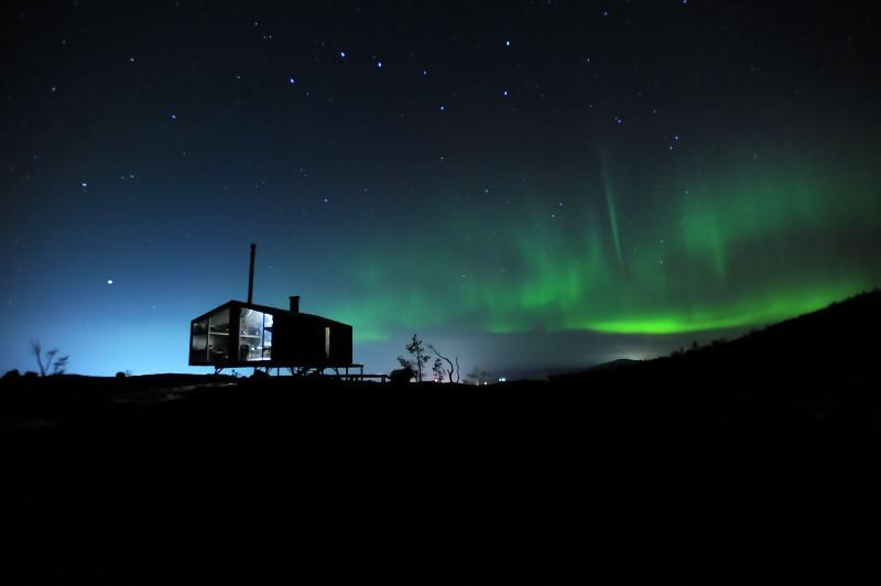 Дом с видом на Северное сияние