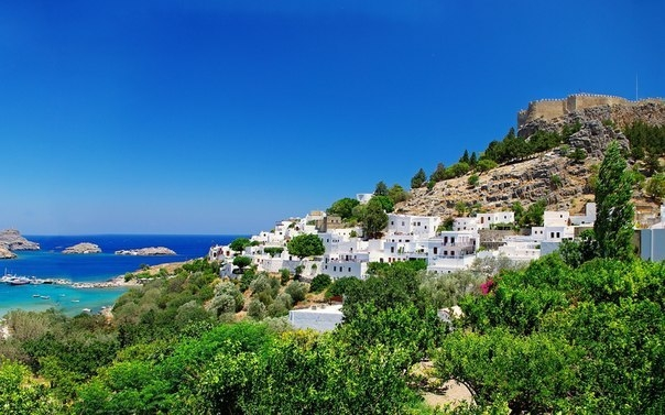 Божественные острова Греции.