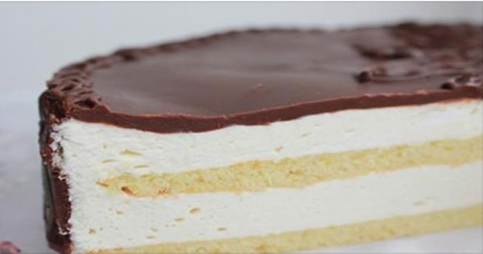 Торт «Птичье молоко» по ГОСТу: мягкий бисквит, нежнейшее суфле, торт сладкий, но не приторный