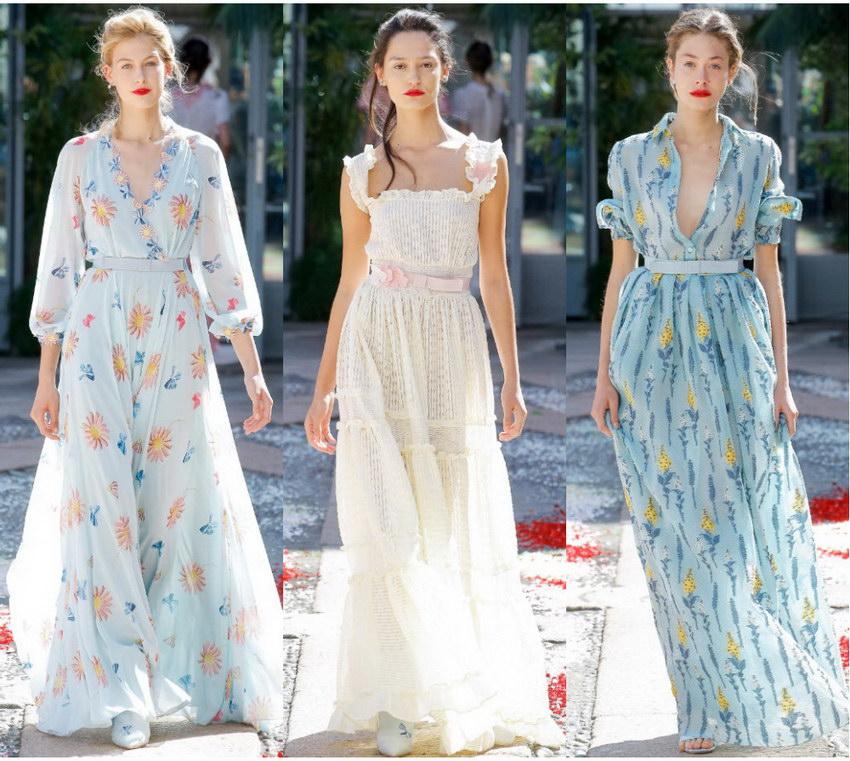 Какое платье предлагается выбрать на лето 2018  — обзор в фото