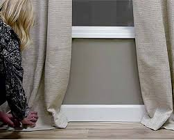 Из старой шторы можно связать интересную и практичную вещь для дома